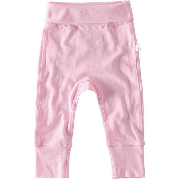 Брюки  ReimaОдежда<br>Брюки  Reima <br>Эти спортивные брюки для новорожденных просто идеальны для веселых игр. Для их изготовления мы выбрали мягкий хлопковый материал Tencel®: он очень простой в уходе и экологически чистый, а его особая мягкая структура идеально подойдет для нежной кожи малыша. Плоские швы обеспечивают дополнительный комфорт – эти брючки очень мягкие на ощупь и не натирают. <br><br>Благодаря удобной широкой резинке на талии брючки плотно сидят, а подворачивающиеся манжеты на брючинах в размерах 5-62см обеспечивают запас длины на вырост. Наденьте брючки с боди и шапочкой из той же серии, и у вас получится абсолютно очаровательный комплект – кстати, отличная идея для подарка!<br>Состав:<br>47,5% Хлопок, 47,5% лиоцелл, 5% эластан<br>Ширина мм: 215; Глубина мм: 88; Высота мм: 191; Вес г: 336; Цвет: розовый; Возраст от месяцев: 0; Возраст до месяцев: 3; Пол: Унисекс; Возраст: Детский; Размер: 50,74,62; SKU: 7628416;