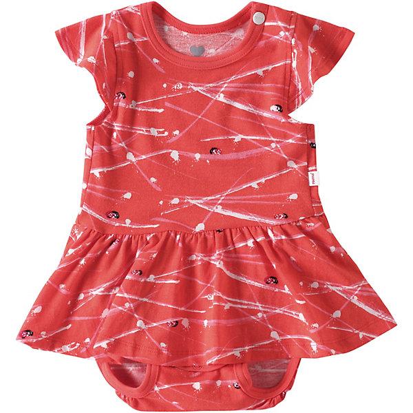 Купить Боди Ananas Reima для девочки, Индонезия, красный, 50, 74, 62, Женский