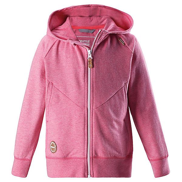 Джемпер Trold ReimaТолстовки<br>Характеристики товара:<br><br>• цвет: розовый;<br>• состав: 100% хлопок;<br>• сезон: демисезон;<br>• застёжка: молния с защитой подбородка;<br>• кофта с капюшоном для малышей;<br>• мягкий и удобный материал;<br>• регулируемый капюшон;<br>• приятная на ощупь резинка на манжетах и подоле;<br>• два боковых кармана;<br>• страна бренда: Финляндия.<br><br>Модная кофта с капюшоном из мягкого и удобного материала. Молния во всю длину с защитой для подбородка поможет быстро одеться, а резинка на манжетах и по низу кофты обеспечит дополнительный комфорт. <br><br>Джемпер Reima от финского бренда Reima (Рейма) можно купить в нашем интернет-магазине.<br>Ширина мм: 190; Глубина мм: 74; Высота мм: 229; Вес г: 236; Цвет: красный; Возраст от месяцев: 12; Возраст до месяцев: 15; Пол: Унисекс; Возраст: Детский; Размер: 80,128,122,116,110,104,98,92,86; SKU: 7628515;