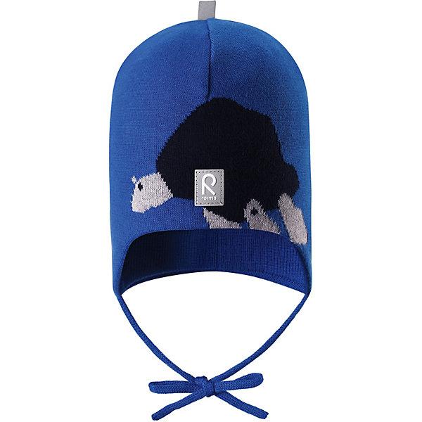 Купить Шапка Kuplia Reima, Шри-Ланка, синий, 44, 52, 48, Унисекс