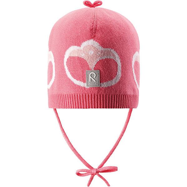 Купить Шапка Kuohu Reima, Шри-Ланка, розовый, 44, 52, 48, Унисекс