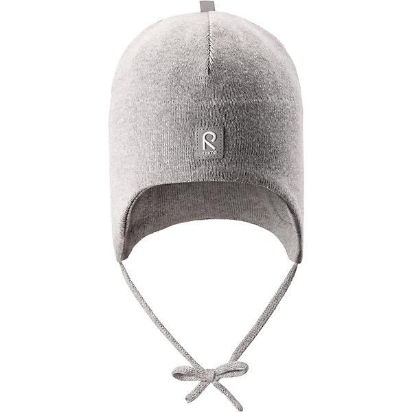 Шапка Kivi ReimaШапки и шарфы<br>Шапка Reima <br>Эта шапка для малышей надежно согреет голову ребенка в ветреную весеннюю погоду. Она сшита из эластичного хлопкового трикотажа и снабжена ветронепроницаемыми вставками в области ушей. Свежие цвета! Шапка сертифицирована по стандарту Oeko-tex.<br>Состав:<br>100% Хлопок<br>Ширина мм: 89; Глубина мм: 117; Высота мм: 44; Вес г: 155; Цвет: серый; Возраст от месяцев: 60; Возраст до месяцев: 72; Пол: Унисекс; Возраст: Детский; Размер: 52,44,48; SKU: 7628848;