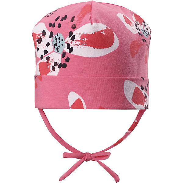 Шапка Huvi ReimaШапки и шарфы<br>Шапка Reima <br>Полухлопковая шапка для малышей с подкладкой и ветронепроницаемыми вставками согреет голову вашего крохи в весеннюю пору. Она сшита из эластичного, влагоотводящего и быстросохнущего материала. Выбирай любимую расцветку из свежих цветов и рисунков этого сезона!<br>Состав:<br>56% Хлопок, 37% полиэстер, 7% эластан<br>Ширина мм: 89; Глубина мм: 117; Высота мм: 44; Вес г: 155; Цвет: розовый; Возраст от месяцев: 9; Возраст до месяцев: 12; Пол: Унисекс; Возраст: Детский; Размер: 44,52,48; SKU: 7628895;