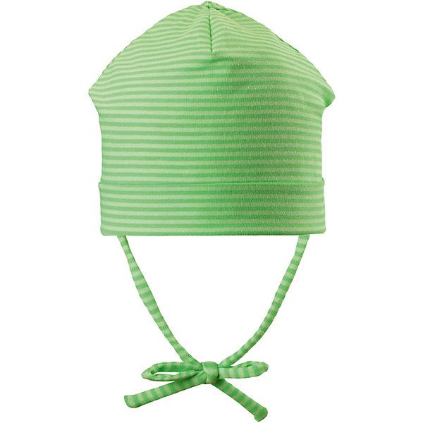 Шапка Huvi ReimaШапки и шарфы<br>Шапка Reima <br>Полухлопковая шапка для малышей с подкладкой и ветронепроницаемыми вставками согреет голову вашего крохи в весеннюю пору. Она сшита из эластичного, влагоотводящего и быстросохнущего материала. Выбирай любимую расцветку из свежих цветов и рисунков этого сезона!<br>Состав:<br>56% Хлопок, 37% полиэстер, 7% эластан<br>Ширина мм: 89; Глубина мм: 117; Высота мм: 44; Вес г: 155; Цвет: зеленый; Возраст от месяцев: 60; Возраст до месяцев: 72; Пол: Унисекс; Возраст: Детский; Размер: 52,44,48; SKU: 7628911;