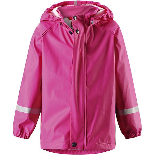 Куртка-дождевик Lampi ReimaОдежда<br>Характеристики товара:<br><br>• цвет: розовый;<br>• состав: 100% полиамид, полиуретановое покрытие;<br>• без подкладки;<br>• без дополнительного утепления;<br>• сезон: демисезон;<br>• температурный режим: от -10 до +15С;<br>• застёжка: молния с защитой подбородка;<br>• запаянные швы, не пропускающие влагу;<br>• эластичный материал;<br>• не содержит ПВХ;<br>• безопасный, съёмный капюшон;<br>• эластичные манжеты на рукавах;<br>• светоотражающие элементы;<br>• страна бренда: Финляндия.<br><br>Детская популярная куртка-дождевик Lampi стильно смотрится и гарантирует, что плечи останутся сухими. Эластичный материал не деревенеет на морозе, поэтому этот дождевик можно носить круглый год – просто добавьте в холодную погоду теплый промежуточный слой. Съемный капюшон защитит даже от ливня, при этом он безопасен во время прогулок в дождливый день. В туманный день или в темное время суток светоотражатели будут просто незаменимы. Материал сертифицирован по стандарту Oeko-Tex и не содержит ПВХ.<br><br>Куртку Reima от финского бренда Reima (Рейма) можно купить в нашем интернет-магазине.<br>Ширина мм: 356; Глубина мм: 10; Высота мм: 245; Вес г: 519; Цвет: розовый; Возраст от месяцев: 132; Возраст до месяцев: 144; Пол: Унисекс; Возраст: Детский; Размер: 152,146,140,134,128,122,116,110,104,98,92,86; SKU: 7629099;