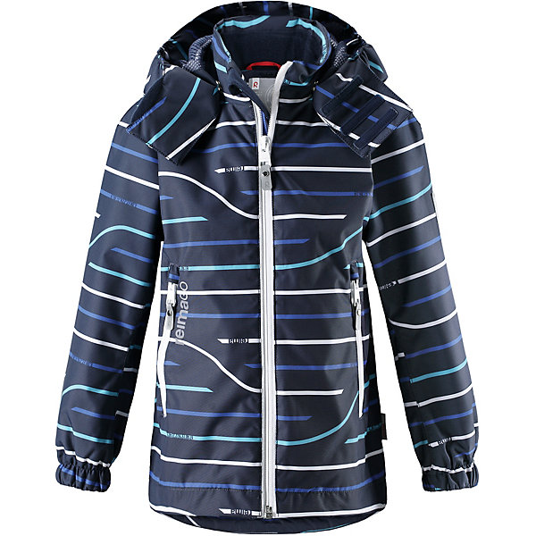 Куртка Kelluu Reimatec® ReimaОдежда<br>Характеристики товара:<br><br>• цвет: синий;<br>• состав: 100% полиамид, полиуретановое покрытие;<br>• подкладка: 100% полиэстер;<br>• без дополнительного утепления;<br>• сезон: демисезон;<br>• температурный режим: от +5° до +15°С;<br>• водонепроницаемость: 15000 мм;<br>• воздухопроницаемость: 7000 мм;<br>• износостойкость: 40000 циклов (тест Мартиндейла);<br>• застёжка: молния с защитой подбородка;<br>• водо- и ветронепроницаемый, «дышащий» и грязеотталкивающий материал;<br>• водо- и грязеотталкивающая пропитка без содержания фторуглеродов BIONIC-FINISH®ECO;<br>• все швы проклеены и водонепроницаемы;<br>• подкладка из mesh-сетки;<br>• безопасный, съёмный и регулируемый капюшон;<br>• эластичные манжеты на рукавах;<br>• регулируемый подол;<br>• внутренний нагрудный карман в моделях 104 размера и более;<br>• карман со специальными креплениями для сенсора ReimaGO® в моделях 104 размера и более;<br>• два кармана на молнии;<br>• светоотражающие детали;<br>• страна бренда: Финляндия.<br><br>Абсолютно водо- и ветронепроницаемая демисезонная куртка Reimatec®. Все швы в ней запаяны, а сама она снабжена множеством практичных деталей, например, съемным капюшоном, который легко отстегивается, если за что-нибудь зацепится. Эластичные манжеты и регулируемый подол не пропускают ветер. Ну а карманы на молнии надежно сохранят ключи от дома и найденные на прогулке сокровища. В этой куртке даже дождь не помешает веселым играм на улице!<br><br>Куртку Reima от финского бренда Reima (Рейма) можно купить в нашем интернет-магазине.<br>Ширина мм: 356; Глубина мм: 10; Высота мм: 245; Вес г: 519; Цвет: синий; Возраст от месяцев: 36; Возраст до месяцев: 48; Пол: Унисекс; Возраст: Детский; Размер: 104,140,134,128,122,116,110; SKU: 7632476;