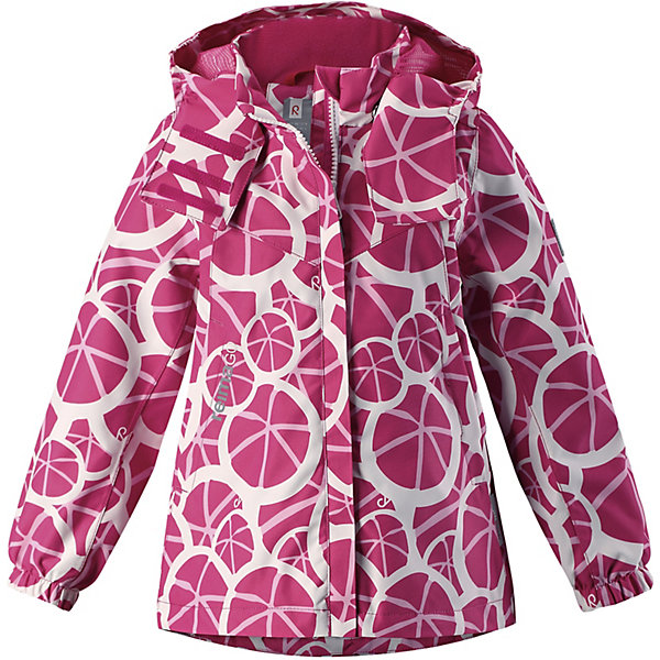 Куртка  Reima для мальчикаОдежда<br>Куртка  Reima для мальчика<br>Абсолютно водо- и ветронепроницаемая демисезонная куртка Reimatec®. Все швы в ней запаяны, а сама она снабжена множеством практичных деталей, например, съемным капюшоном, который легко отстегивается, если за что-нибудь зацепится. Эластичные манжеты и регулируемый подол не пропускают ветер. Ну а карманы на молнии надежно сохранят ключи от дома и найденные на прогулке сокровища. В этой куртке даже дождь не помешает веселым играм на улице!<br>Состав:<br>100% Полиэстер, полиуретановое покрытие<br>Ширина мм: 356; Глубина мм: 10; Высота мм: 245; Вес г: 519; Цвет: розовый; Возраст от месяцев: 36; Возраст до месяцев: 48; Пол: Мужской; Возраст: Детский; Размер: 104,152,146,140,134,128,122,116,110; SKU: 7632494;