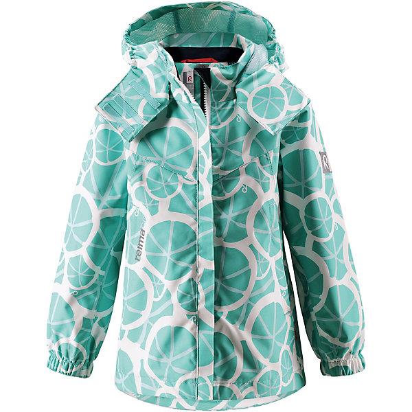 Куртка Bellis Reima для мальчикаОдежда<br>Куртка  Reima для мальчика<br>Абсолютно водо- и ветронепроницаемая демисезонная куртка Reimatec®. Все швы в ней запаяны, а сама она снабжена множеством практичных деталей, например, съемным капюшоном, который легко отстегивается, если за что-нибудь зацепится. Эластичные манжеты и регулируемый подол не пропускают ветер. Ну а карманы на молнии надежно сохранят ключи от дома и найденные на прогулке сокровища. В этой куртке даже дождь не помешает веселым играм на улице!<br>Состав:<br>100% Полиэстер, полиуретановое покрытие<br>Ширина мм: 356; Глубина мм: 10; Высота мм: 245; Вес г: 519; Цвет: зеленый; Возраст от месяцев: 36; Возраст до месяцев: 48; Пол: Мужской; Возраст: Детский; Размер: 104,152,110,116,122,128,134,140,146; SKU: 7632504;