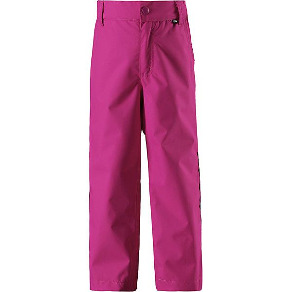 Брюки Slana ReimaОдежда<br>Брюки  Reima <br>Эти практичные, водо- и грязеотталкивающие демисезонные брюки изготовлены из прочного, но при этом легкого материала. Они отлично прослужат вам круглый год; в холодную погоду просто подденьте под брюки теплый промежуточный слой. Ширинка на молнии облегчает надевание. Если вы решили выбрать брюки подлиннее, на вырост, воспользуйтесь специально придуманной застежкой на липучке на концах брючин – благодаря ей ребенок не будет наступать на брюки. Эти надежные всепогодные брюки снабжены светоотражателями, карманом на молнии и потайным карманом для сенсора ReimaGO®.<br>Состав:<br>100% Полиэстер, полиуретановое покрытие<br>Ширина мм: 215; Глубина мм: 88; Высота мм: 191; Вес г: 336; Цвет: розовый; Возраст от месяцев: 132; Возраст до месяцев: 144; Пол: Унисекс; Возраст: Детский; Размер: 152,104,110,116,122,128,134,140,146; SKU: 7632838;