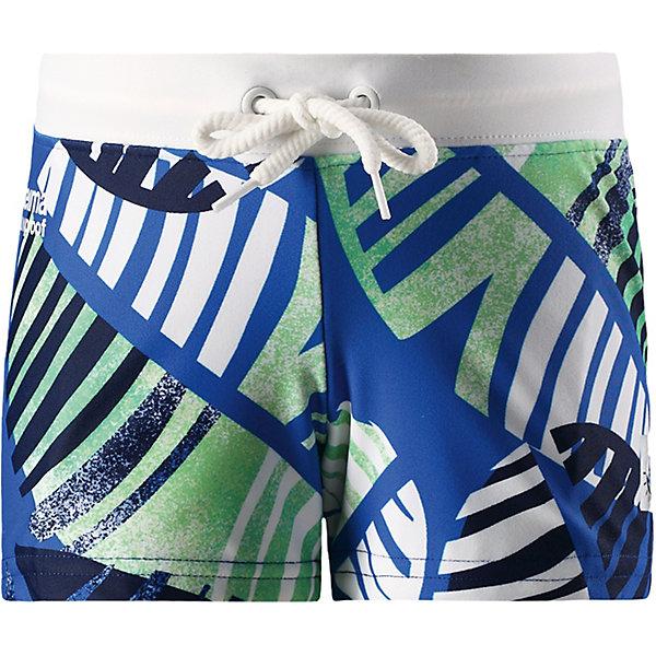 Плавки Tonga Reima для мальчикаОдежда<br>Характеристики товара:<br><br>• цвет: синий принт;<br>• состав: 80% полиамид, 20% эластан;<br>• сезон: лето;<br>• плавательные шорты для детей SunProof;<br>• фактор защиты от ультрафиолета 50+;<br>• эластичная подкладка спереди;<br>• Reima SunProof®;<br>• регулируемый пояс со шнурком;<br>• страна бренда: Финляндия.<br><br>Короткие шорты для плавания для детей сделаны из материала SunProof с УФ-фильтром 50+. Подходят как для купания, так и для игр на солнце. Шорты – эластичные и быстро сохнущие. Эластичная подкладка спереди привнесет дополнительный комфорт. Пояс на шнурке можно регулировать для хорошей, индивидуальной посадки по фигуре.<br><br>Плавки Reima от финского бренда Reima (Рейма) можно купить в нашем интернет-магазине.<br>Ширина мм: 183; Глубина мм: 60; Высота мм: 135; Вес г: 119; Цвет: синий; Возраст от месяцев: 18; Возраст до месяцев: 24; Пол: Мужской; Возраст: Детский; Размер: 92,140,134,128,122,116,110,104,98; SKU: 7633134;