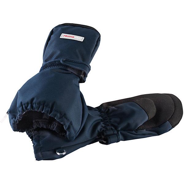 Варежки Askare ReimaПерчатки и варежки<br>Варежки  Reima <br>Демисезонные варежки для малышей и детей постарше стали хитом продаж Reima благодаря своим суперхарактеристикам: они абсолютно водо- и ветронепроницаемые, но при этом дышащие. Теплая флисовая подкладка и усиления на ладонях, кончиках пальцев и на большом пальце гарантируют, что ваш ребенок сможет весело и активно гулять на свежем воздухе в любую погоду. Носить эти удобные и эластичные варежки – одно удовольствие. Спереди они снабжены удобной застежкой на липучке. В холодную погоду мы рекомендуем поддевать под них теплые варежки. Эти варежки пригодны для сушки в барабане – их быстро стирать и сушить.<br>Состав:<br>100% Полиэстер, полиуретановое покрытие<br>Ширина мм: 162; Глубина мм: 171; Высота мм: 55; Вес г: 119; Цвет: синий; Возраст от месяцев: 12; Возраст до месяцев: 24; Пол: Унисекс; Возраст: Детский; Размер: 2,6,5,4,3; SKU: 7633548;