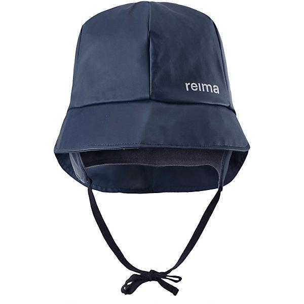 Шапка ReimaШапки и шарфы<br>Шапка Reima <br>Ура, дождь! Эта детская непромокаемая шапка защитит ушки, шею и лицо и от небольшого дождика, и даже во время ливня. Эта легкая шапка-дождевик без подкладки изготовлена из эластичного материала, сертифицированного по стандарту Oeko-Tex и не содержит ПВХ. Запаянные швы гарантируют, что под эту яркую шапку не попадет ни одна дождинка! Новые, сочные расцветки – просто выбери свою любимую!<br>Состав:<br>100% Полиэстер, полиуретановое покрытие<br>Ширина мм: 89; Глубина мм: 117; Высота мм: 44; Вес г: 155; Цвет: синий; Возраст от месяцев: 18; Возраст до месяцев: 24; Пол: Унисекс; Возраст: Детский; Размер: 48,56,54,52,50; SKU: 7633590;
