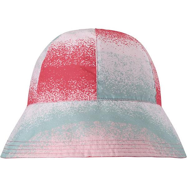 Панама Viiri Reima для девочкиЛетние<br>Характеристики товара:<br><br>• цвет: розовый;<br>• состав: 100% полиэстер;<br>• без подкладки;<br>• без дополнительного утепления;<br>• сезон: демисезон;<br>• температурный режим: от +10 до +25С;<br>• без застёжки;<br>• водо- и грязеотталкивающая пропитка без содержания фторуглеродов Teflon EcoElite®;<br>• фактор защиты от ультрафиолета 50+;<br>• стильный, защитный козырёк;<br>• защищает от прямых солнечных лучей;<br>• двухсторонняя панама;<br>• лёгкий стиль, без подкладки;<br>• Reima SunProof®;<br>• светоотражающие элементы;<br>• страна бренда: Финляндия.<br><br>Классная защитная панама для малышей и детей постарше с фактором УФ-защиты 50+. Козырек панамы защищает лицо и глаза от вредного ультрафиолета. Изготовлена из дышащего и легкого материала SunProof. Выбирайте эту двухстороннюю панаму – и вы получите 2-в-1!<br><br>Панаму Reima от финского бренда Reima (Рейма) можно купить в нашем интернет-магазине.<br>Ширина мм: 89; Глубина мм: 117; Высота мм: 44; Вес г: 155; Цвет: красный; Возраст от месяцев: 18; Возраст до месяцев: 24; Пол: Женский; Возраст: Детский; Размер: 48,56,54,52,50; SKU: 7633602;