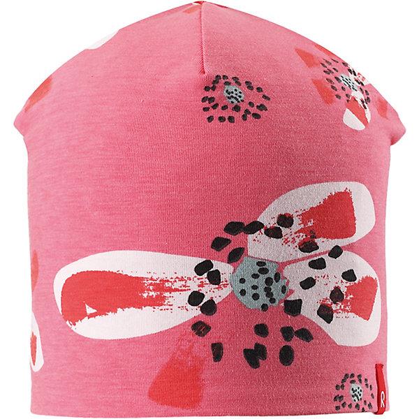 Шапка Tanssi ReimaШапки и шарфы<br>Шапка Reima <br>Детская шапка из мягкого и эластичного материала с влагоотводящей подкладкой отлично подойдет для подвижного ребенка. Кроме того, материал имеет УФ-защиту 50+. Модная двухсторонняя модель – сегодня однотонная расцветка, а завтра веселый рисунок!<br>Состав:<br>56% Хлопок, 37% полиэстер, 7% эластан<br>Ширина мм: 89; Глубина мм: 117; Высота мм: 44; Вес г: 155; Цвет: розовый; Возраст от месяцев: 84; Возраст до месяцев: 144; Пол: Унисекс; Возраст: Детский; Размер: 56,48,52; SKU: 7633834;