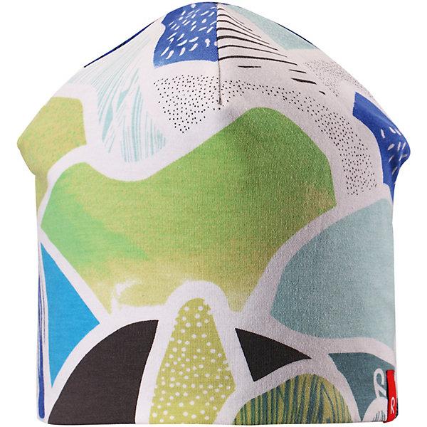 Шапка Tanssi ReimaШапки и шарфы<br>Шапка Reima <br>Детская шапка из мягкого и эластичного материала с влагоотводящей подкладкой отлично подойдет для подвижного ребенка. Кроме того, материал имеет УФ-защиту 50+. Модная двухсторонняя модель – сегодня однотонная расцветка, а завтра веселый рисунок!<br>Состав:<br>56% Хлопок, 37% полиэстер, 7% эластан<br>Ширина мм: 89; Глубина мм: 117; Высота мм: 44; Вес г: 155; Цвет: светло-зеленый; Возраст от месяцев: 18; Возраст до месяцев: 24; Пол: Унисекс; Возраст: Детский; Размер: 48,56,52; SKU: 7633854;