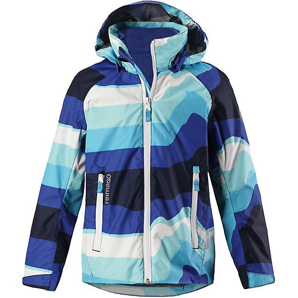 Куртка Travel Reima для мальчикаОдежда<br>Характеристики товара:<br><br>• цвет: синий в полоску;<br>• состав: 100% полиамид, полиуретановое покрытие;<br>• подкладка: 100% полиэстер;<br>• без дополнительного утепления;<br>• сезон: демисезон;<br>• температурный режим: от +5° до +15°С;<br>• водонепроницаемость: 5000 мм;<br>• воздухопроницаемость: 8000 мм;<br>• износостойкость: 15000 циклов (тест Мартиндейла);<br>• застёжка: молния с защитой подбородка;<br>• все швы проклеены и водонепроницаемы;<br>• внутренняя отстегивающаяся флисовая кофта с нагрудным карманом;<br>• подкладка из mesh-сетки;<br>• безопасный съёмный и регулируемый капюшон;<br>• регулируемые манжеты;<br>• регулируемый подол;<br>• карман с креплениями для сенсора ReimaGO®;<br>• карманы на молнии;<br>• светоотражающие детали;<br>• страна бренда: Финляндия.<br><br>Демисезонная куртка Reimatec® для подростков снабжена съемной внутренней флисовой кофтой! Верхняя куртка изготовлена из абсолютно водо- и ветронепроницаемого, дышащего материала. Швы проклеены, водонепроницаемы. В теплую погоду можно сделать куртку легче, отстегнув внутреннюю флисовую кофту. А в теплый погожий денек мягкая и легкая флисовая кофта будет отлично смотреться сама по себе и отлично согреет ребенка во время прогулки. <br><br>Подол легко регулируется, что позволяет подогнать куртку идеально по фигуре. Безопасный капюшон защищает от пронизывающего ветра, а карманы на молнии надежно сохранят телефон и ключи во время веселых игр на воздухе. Спортивный укороченный покрой в весенних расцветках с множеством продуманных деталей.<br><br>Куртку Reima от финского бренда Reima (Рейма) можно купить в нашем интернет-магазине.<br>Ширина мм: 356; Глубина мм: 10; Высота мм: 245; Вес г: 519; Цвет: синий; Возраст от месяцев: 48; Возраст до месяцев: 60; Пол: Мужской; Возраст: Детский; Размер: 110,104,164,158,152,146,140,134,128,122,116; SKU: 7634004;