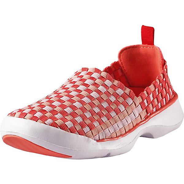 Ботинки ReimaКроссовки<br>Ботинки Reima <br>Перед вами самые удобные ботинки этого лета. Они сделаны из гибкого, эластичного и дышащего материала и пригодны для машинной стирки (при 30°). Эти ботинки быстро надеваются – никакой шнуровки и липучек. В подошве есть специальные отверстия для вентиляции, защищенные металлической сеткой и водонепроницаемой мембраной, – они не пропустят вовнутрь камешки, песок и воду, а ноги будут «дышать». Резиновое усиление на подошве не оставляет следов на полу, что очень практично во время морской прогулки или в помещении. Обувь снабжена уникальными съемными стельками Reima с принтом Happy Fit, которые помогают правильно определить размер.<br>Состав:<br>Подошва: Этиленвинилацетат/Термо Пластичная Резина Верх: 80% Полиэстер, 20% Эластан Стелька: 100% Этиленвинилацетат Подкладка: -<br>Ширина мм: 250; Глубина мм: 150; Высота мм: 150; Вес г: 250; Цвет: красный; Возраст от месяцев: 156; Возраст до месяцев: 1188; Пол: Унисекс; Возраст: Детский; Размер: 38,28,29,30,31,32,33,34,35,36,37; SKU: 7634313;