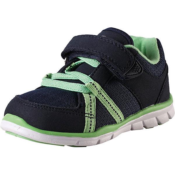 Ботинки Lite ReimaОбувь<br>Ботинки Reima <br>Эти ботинки, которые легко обувать и легко чистить, просто незаменимы для увлекательных прогулок! Модные и легкие ботинки Reima® для малышей превосходно подойдут активным маленьким любителям летних приключений. Верх изготовлен из дышащего сетчатого материала, а бесшовная лайкровая подкладка защитит ножки от натирания. С помощью эластичных шнурков и удобного ремешка на липучке малыши смогут обуться сами. Благодаря широкому вырезу их очень легко надевать. Обувь снабжена уникальными съемными стельками Reima с принтом Happy Fit, которые помогают правильно определить размер. Хорошие новости для мам и пап: эти ботинки можно стирать в стиральной машине! Однако помните, что они требуют деликатной стирки.<br>Состав:<br>Подошва: Этиленвинилацетат/Термо Пластичная Резина Верх: 60% Полиуретан, 40% Полиэстер Стелька: 100% Этиленвинилацетат Подкладка: 80% Полиэстер, 20% Эластан<br>Ширина мм: 250; Глубина мм: 150; Высота мм: 150; Вес г: 250; Цвет: синий; Возраст от месяцев: 36; Возраст до месяцев: 48; Пол: Унисекс; Возраст: Детский; Размер: 27,20,21,22,23,24,25,26; SKU: 7634536;