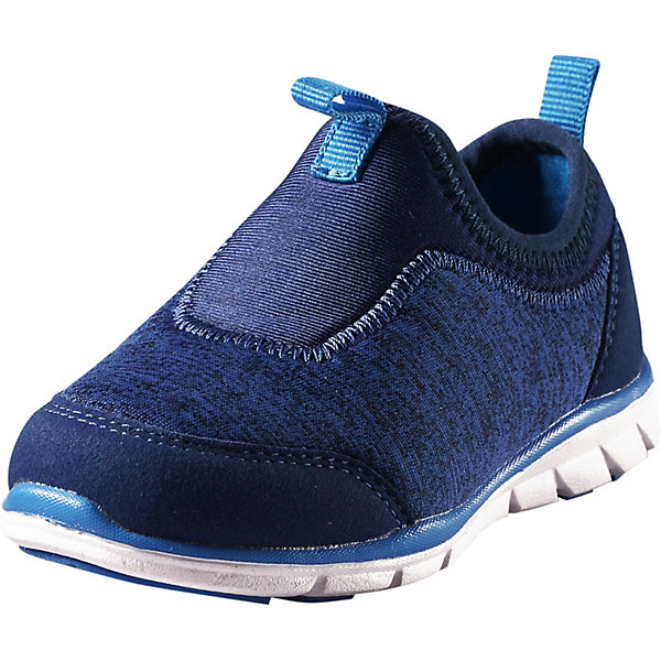 Ботинки ReimaКроссовки<br>Ботинки Reima <br>Дети просто обожают эти кроссовки! В этих текстильных кроссовках совсем нет шнурков, ведь они и так легко и быстро надеваются. Они очень легкие, а благодаря лайкровой подошве еще и удобные в носке. Кроме того, гибкие немаркирующие подошвы отлично подойдут для занятий в спортзале. Стоит лишь выбрать одну из чудесных свежих расцветок, и к прогулке готовы!<br>Состав:<br>Подошва: Термо Пластичная Резина Верх: 70% Полиэстер, 30% Полиуретан Стелька: 90% Этиленвинилацетат, 10% Полиэстер Подкладка: 100% Полиэстер<br>Ширина мм: 250; Глубина мм: 150; Высота мм: 150; Вес г: 250; Цвет: синий; Возраст от месяцев: 36; Возраст до месяцев: 48; Пол: Унисекс; Возраст: Детский; Размер: 27,20,21,22,23,24,25,26; SKU: 7634658;