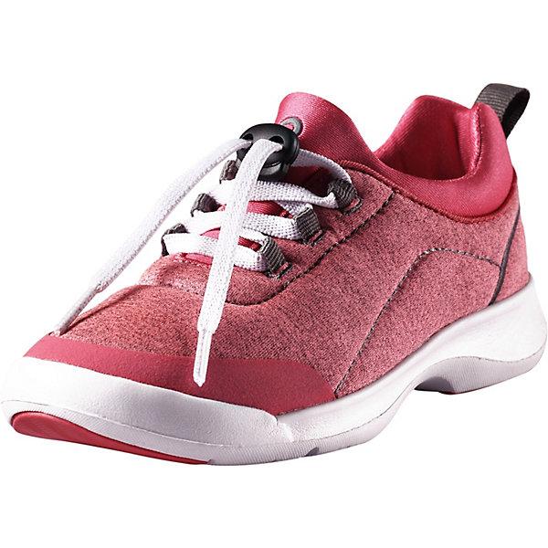 Кроссовки Shore ReimaОбувь<br>Ботинки Reima <br>Эти детские кроссовки созданы специально для бега и прыжков! У них текстильный верх и легкая, гибкая и дышащая подошва, снабженная резиновыми усилениями. К тому же она немаркирующая, а значит кроссовки можно надевать и в спортзал. За счет моющихся материалов и гладкой, не натирающей подкладке их действительно удобно носить – даже без носков!<br>Состав:<br>Подошва: Этиленвинилацетат/Термо Пластичная Резина Верх: 90% Полиэстер, 5% Хлопок, 5% Эластан Стелька: 100% Этиленвинилацетат Подкладка: 90% Полиэстер, 10% Эластан<br>Ширина мм: 250; Глубина мм: 150; Высота мм: 150; Вес г: 250; Цвет: розовый; Возраст от месяцев: 156; Возраст до месяцев: 1188; Пол: Унисекс; Возраст: Детский; Размер: 38,28,29,30,31,32,33,34,35,36,37; SKU: 7634727;