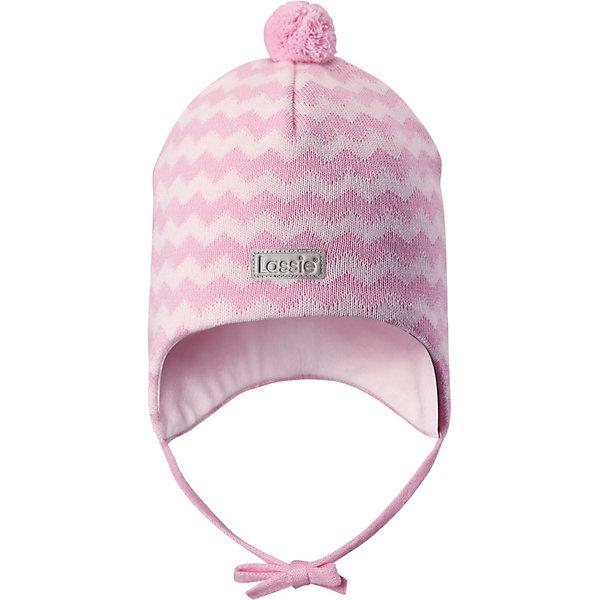 Шапка LassieШапки и шарфы<br>Характеристики товара:<br><br>• цвет: розовый;<br>• состав: 100% хлопок;<br>• подкладка: 97% хлопок, 3% эластан;<br>• без дополнительного утепления;<br>• сезон: демисезон;<br>• температурный режим: от +5 до +15С;<br>• застёжка: шапка на завязках;<br>• ветронепроницаемые вставки в области ушей;<br>• сплошная подкладка из мягкого трикотажа;<br>• светоотражающие элементы;<br>• страна бренда: Финляндия.<br><br>Очаровательная шапка для малышей! Она изготовлена из очень удобного эластичного материала на подкладке из гладкого хлопкового джерси. Ветронепроницаемые вставки в области ушей обеспечат тепло и уют в ветреную погоду, а завязки не дадут шапке сползать.<br><br>Шапку Lassie (Ласси) можно купить в нашем интернет-магазине.<br>Ширина мм: 89; Глубина мм: 117; Высота мм: 44; Вес г: 155; Цвет: розовый; Возраст от месяцев: 9; Возраст до месяцев: 12; Пол: Унисекс; Возраст: Детский; Размер: 42-44,50-52,46-48,44-46; SKU: 7635342;