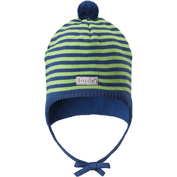 Шапка LassieШапки и шарфы<br>Характеристики товара:<br><br>• цвет: зелёный;<br>• состав: 100% хлопок;<br>• подкладка: 97% хлопок, 3% эластан;<br>• без дополнительного утепления;<br>• сезон: демисезон;<br>• температурный режим: от +5 до +15С;<br>• застёжка: шапка на завязках;<br>• ветронепроницаемые вставки в области ушей;<br>• эластичная хлопчатобумажная ткань;<br>• сплошная подкладка: гладкий хлопковый трикотаж;<br>• светоотражающие элементы;<br>• страна бренда: Финляндия.<br><br>Очаровательная шапка для малышей! Она изготовлена из очень удобного эластичного материала на подкладке из гладкого хлопкового джерси. Ветронепроницаемые вставки в области ушей обеспечат тепло и уют в ветреную погоду, а завязки не дадут шапке сползать.<br><br>Шапку Lassie (Ласси) можно купить в нашем интернет-магазине.<br>Ширина мм: 89; Глубина мм: 117; Высота мм: 44; Вес г: 155; Цвет: синий; Возраст от месяцев: 12; Возраст до месяцев: 24; Пол: Унисекс; Возраст: Детский; Размер: 50-52,46-48,44-46; SKU: 7635360;