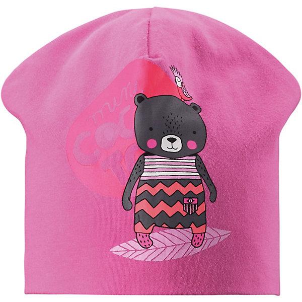 Шапка LassieШапки и шарфы<br>Шапка Lassie <br>Классная шапка для детей в лучших сезонных расцветках! В качестве материала для верха и подкладки использован гладкий и удивительно мягкий на ощупь хлопковый джерси.<br>Состав:<br>95% Хлопок, 5% эластан<br>Ширина мм: 89; Глубина мм: 117; Высота мм: 44; Вес г: 155; Цвет: розовый; Возраст от месяцев: 12; Возраст до месяцев: 24; Пол: Унисекс; Возраст: Детский; Размер: 48,52,50; SKU: 7635368;