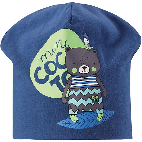 Шапка LassieШапки и шарфы<br>Шапка Lassie <br>Классная шапка для детей в лучших сезонных расцветках! В качестве материала для верха и подкладки использован гладкий и удивительно мягкий на ощупь хлопковый джерси.<br>Состав:<br>95% Хлопок, 5% эластан<br>Ширина мм: 89; Глубина мм: 117; Высота мм: 44; Вес г: 155; Цвет: синий; Возраст от месяцев: 72; Возраст до месяцев: 144; Пол: Унисекс; Возраст: Детский; Размер: 50-52,44-46,46-48; SKU: 7635372;