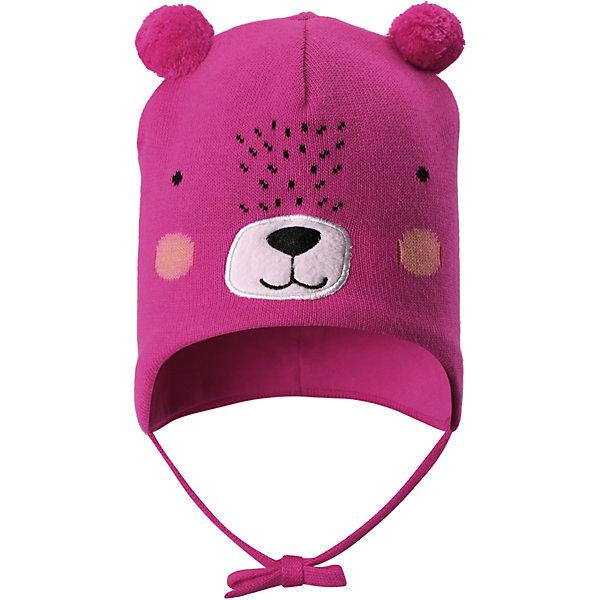 Шапка LassieШапки и шарфы<br>Характеристики товара:<br><br>• цвет: розовый;<br>• состав: 100% хлопок;<br>• подкладка: 97% хлопок, 3% эластан;<br>• без дополнительного утепления;<br>• сезон: демисезон;<br>• температурный режим: от +5 до +15С;<br>• застёжка: шапка на завязках;<br>• эластичная хлопчатобумажная ткань;<br>• ветронепроницаемые вставки в области ушей;<br>• светоотражающие элементы;<br>• страна бренда: Финляндия.<br><br>Очаровательная шапка для малышей! Она изготовлена из очень удобного эластичного материала на подкладке из гладкого хлопкового джерси. Ветронепроницаемые вставки в области ушей обеспечат тепло и уют в ветреную погоду, а завязки не дадут шапке сползать.<br><br>Шапку Lassie (Ласси) можно купить в нашем интернет-магазине.<br>Ширина мм: 89; Глубина мм: 117; Высота мм: 44; Вес г: 155; Цвет: розовый; Возраст от месяцев: 12; Возраст до месяцев: 24; Пол: Унисекс; Возраст: Детский; Размер: 44-46,50-52,46-48; SKU: 7635384;