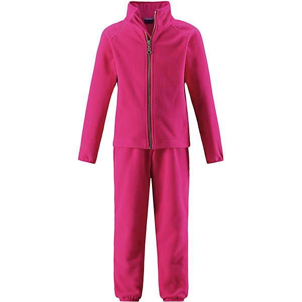 Флисовый комплект LassieОдежда<br>Характеристики товара:<br><br>• цвет: розовый;<br>• состав: 100% полиэстер, флис 200 гр. м/2;<br>• сезон: демисезон;<br>• застёжка: молния с защитой подбородка;<br>• выводит влагу в верхние слои одежды;<br>• дышащий, тёплый и быстросохнущий флис;<br>• эластичный воротник, манжеты на рукавах и брючинах;<br>• эластичная талия;<br>• брюки на резинке;<br>• страна бренда: Финляндия.<br><br>Очень удобный, гладкий флисовый комплект на прохладный день. Можно использовать как верхнюю одежду в сухую погоду весной и осенью или поддевать в качестве промежуточного слоя в холода. Высококачественный полярный флис – это прочный, водоотталкивающий, ветронепроницаемый и дышащий материал. И, конечно же, теплый и легкий – идеальный вариант для активных прогулок. Комплект отлично сидит по фигуре благодаря эластичной регулируемой талии и регулируемым концам брючин в брюках и эластичному подолу и манжетам в куртке. Молния во всю длину и гладкая подкладка из полиэстера облегчают процесс одевания.<br><br>Комплект Lassie (Ласси) можно купить в нашем интернет-магазине.<br>Ширина мм: 219; Глубина мм: 11; Высота мм: 262; Вес г: 314; Цвет: розовый; Возраст от месяцев: 18; Возраст до месяцев: 24; Пол: Унисекс; Возраст: Детский; Размер: 92,140,134,128,122,116,110,104,98; SKU: 7635907;
