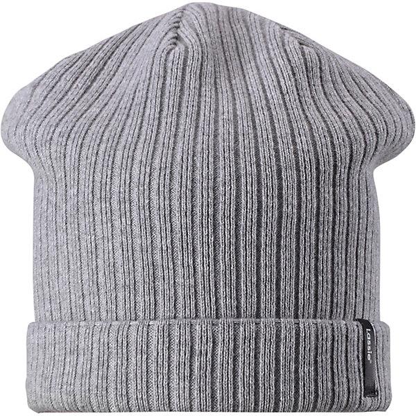 Шапка LassieШапки и шарфы<br>Шапка Lassie <br>Классическая шапка в рыбацком стиле всегда будет смотреться стильно! И верх, и подкладка сделаны из эластичного хлопкового трикотажа. Множество модных расцветок – выбирай себе по душе!<br>Состав:<br>100% Хлопок<br>Ширина мм: 89; Глубина мм: 117; Высота мм: 44; Вес г: 155; Цвет: серый; Возраст от месяцев: 72; Возраст до месяцев: 144; Пол: Унисекс; Возраст: Детский; Размер: 52,54,50; SKU: 7636109;