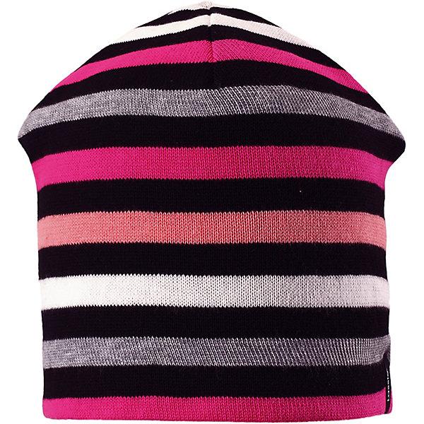 Шапка LassieШапки и шарфы<br>Шапка Lassie <br>Эта шапка изготовлена из хлопкового трикотажа и снабжена эластичной подкладкой из хлопкового джерси – теплой и мягкой на ощупь. В новом сезоне без такой просто не обойтись! Стильная расцветка дополняет образ.<br>Состав:<br>100% Хлопок<br>Ширина мм: 89; Глубина мм: 117; Высота мм: 44; Вес г: 155; Цвет: розовый; Возраст от месяцев: 36; Возраст до месяцев: 72; Пол: Унисекс; Возраст: Детский; Размер: 50,54,52; SKU: 7636153;