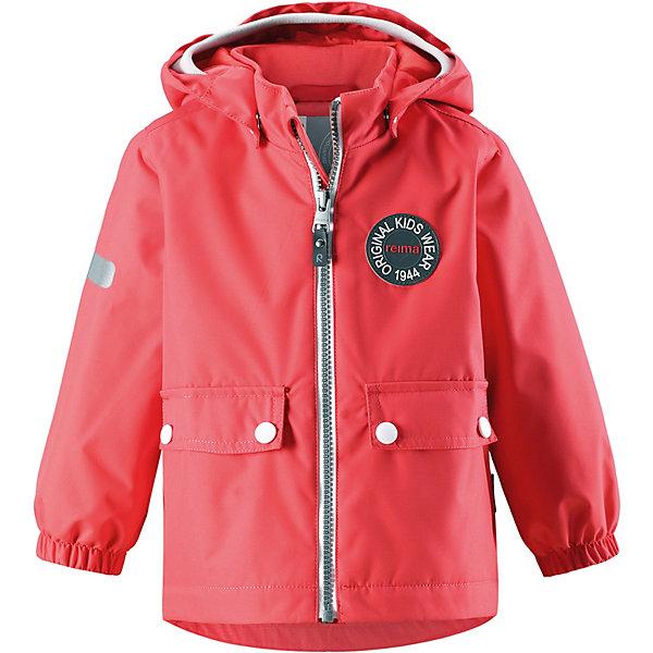 Куртка Quilt Reimatec® Reima для девочкиВерхняя одежда<br>Характеристики товара:<br><br>• цвет: красный;<br>• состав: 100% полиамид, полиуретановое покрытие;<br>• подкладка: 100% полиэстер;<br>• без дополнительного утепления;<br>• сезон: демисезон;<br>• температурный режим: от +5° до +15°С;<br>• водонепроницаемость: 8000 мм;<br>• воздухопроницаемость: 7000 мм;<br>• износостойкость: 30000 циклов (тест Мартиндейла);<br>• застёжка: молния с защитой подбородка;<br>• водо- и  ветронепроницаемый, дышащий и грязеотталкивающий материал;<br>• водо- и грязеотталкивающая пропитка без содержания фторуглеродов BIONIC-FINISH®ECO<br>• основные швы проклеены и не пропускают влагу;<br>• гладкая подкладка из полиэстера;<br>• безопасный съёмный капюшон;<br>• мягкая резинка на кромке капюшона;<br>• эластичные манжеты на рукавах;<br>• два кармана с клапанами;<br>• светоотражающие детали;<br>• страна бренда: Финляндия.<br><br>Эта необыкновенно популярная куртке с рисунком, посвященным юбилею Reima®, дождь не страшен – все основные швы проклеены, водонепроницаемы. Куртка идеально подойдет для ранних весенних и поздних осенних дней. Куртка с гладкой стеганой подкладкой легко надевается на теплый промежуточный слой – маленьким покорителям погоды в ней будет тепло весь день. Большие карманы с клапанами и светоотражающие детали выполнены в ретро-стиле 70-х.<br><br>Куртку Reima от финского бренда Reima (Рейма) можно купить в нашем интернет-магазине.<br>Ширина мм: 356; Глубина мм: 10; Высота мм: 245; Вес г: 519; Цвет: красный; Возраст от месяцев: 12; Возраст до месяцев: 15; Пол: Женский; Возраст: Детский; Размер: 80,98,92,86; SKU: 7636465;