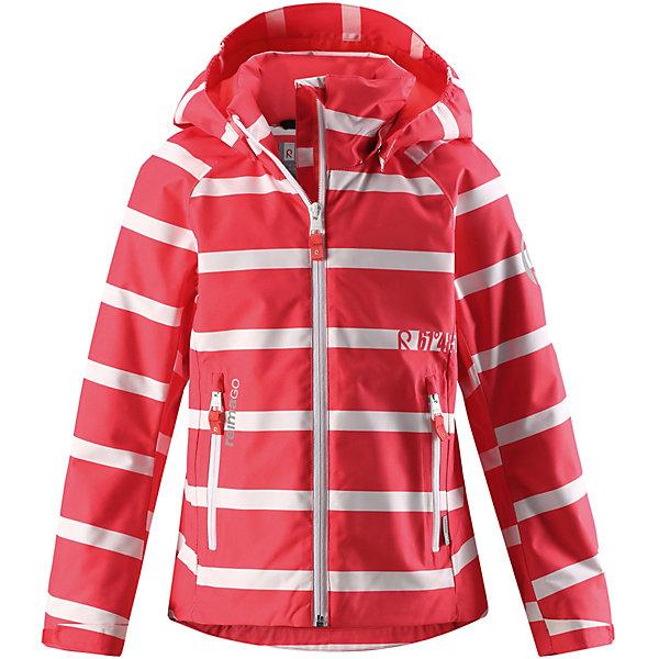 Куртка  Reima для девочкиВерхняя одежда<br>Куртка  Reima для девочки<br>Эта спортивная демисезонная куртка для подростков очень удобная и практичная – куда ни надень! Она изготовлена из абсолютно непромокаемого материала с проклеенными швами, поэтому обеспечивает надежную защиту в любую погоду. Благодаря грязеотталкивающей поверхности эта ветронепроницаемая демисезонная куртка очень простая в уходе. Съемный капюшон защищает от пронизывающего ветра, к тому же он абсолютно безопасен во время активных прогулок, поскольку легко отстегнется, если вдруг за что-нибудь зацепится. Подол и манжеты регулируются, что позволяет подогнать эту куртку для девочек идеально по фигуре.<br>Состав:<br>100% Полиэстер, полиуретановое покрытие<br>Ширина мм: 356; Глубина мм: 10; Высота мм: 245; Вес г: 519; Цвет: красный; Возраст от месяцев: 72; Возраст до месяцев: 84; Пол: Женский; Возраст: Детский; Размер: 122,164,158,152,146,140,134,128; SKU: 7636851;