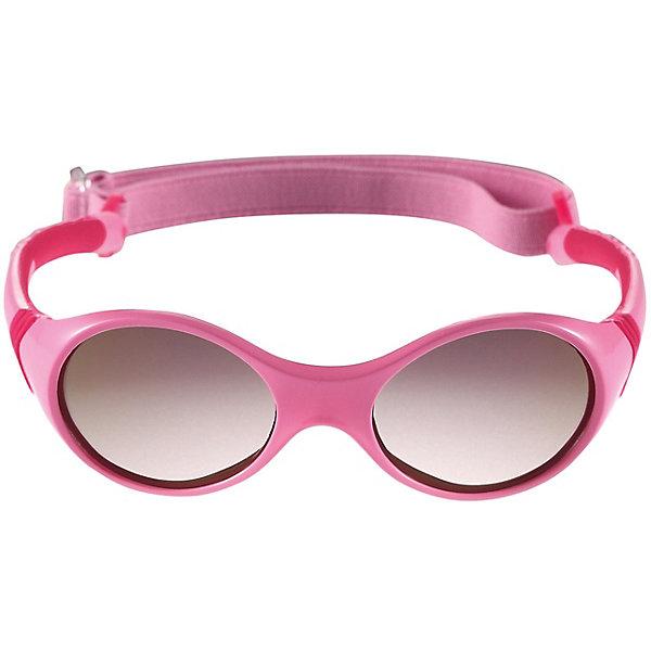Солнцезащитные очки Ankka ReimaСолнцезащитные очки<br>Солнцезащитные очки Reima <br>Солнцезащитные очки для новорожденных и малышей постарше – самый важный аксессуар летнего сезона! Нужно обязательно защищать маленькие глазки от вредного ультрафиолета. Линзы в этих очках обеспечивают комплексную защиту от УФА и УФВ лучей. Очки сертифицированы по стандартам ЕС. Поставляются в комплекте с удобным чехлом. Рекомендованы для детей от 0 до 4 лет. Эти симпатичные очки ярких расцветок очень удобны в использовании благодаря съемной эластичной резинке.<br>Состав:<br>Оправа: TPEE/TPR/TR90/Резина, линзы PC<br>Ширина мм: 170; Глубина мм: 157; Высота мм: 67; Вес г: 117; Цвет: розовый; Возраст от месяцев: 48; Возраст до месяцев: 168; Пол: Унисекс; Возраст: Детский; Размер: one size; SKU: 7636896;