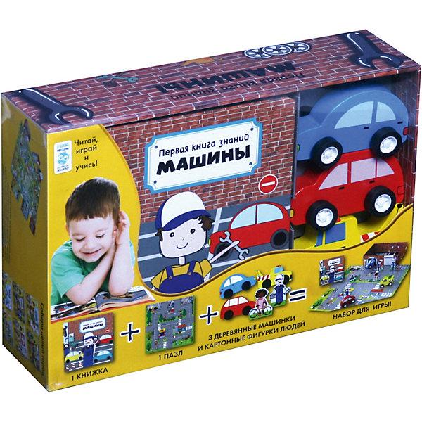 Купить Первая книга знаний Машины + набор игры, Махаон, Гонконг, Мужской