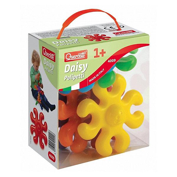 """Конструктор Quercetti, """"Осьминоги"""", 6 деталейПластмассовые конструкторы<br>Характеристики товара:<br><br>• возраст: от 3 лет;<br>• в комплекте: 6 разноцветных деталей, пластиковый контейнер;<br>• материал: пластик;<br>• размер упаковки: 16х14х9 см;<br>• вес упаковки: 540 гр.;<br>• страна бренда: Италия.<br><br>Конструктор Quercetti, """"Осьминоги"""" – это отличный способ увлекательно провести досуг, снять стресс и развить моторику. Ребенку нужно в правильном порядке закреплять детали на платформе. <br><br>Во время создания своих картинок или воссоздания нарисованных на коробке примеров, у ребенка развивается творческое мышление и фантазия, а также воображение.   <br><br>Все детали конструктора изготовлены из мягкой пластмассы высокого качества и у деталей отсутствуют острые углы, что гарантирует безопасность для вашего малыша. <br><br>Конструктор Quercetti, """"Осьминоги"""" можно купить в нашем интернет-магазине.<br>Ширина мм: 140; Глубина мм: 160; Высота мм: 70; Вес г: 133; Возраст от месяцев: 12; Возраст до месяцев: 3; Пол: Унисекс; Возраст: Детский; SKU: 7683690;"""