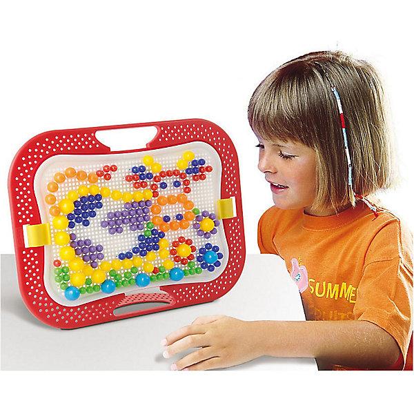 Мозаика Quercetti Фантастические цвета, 300Мозаика<br>Характеристики товара:<br><br>• возраст: от 3 лет;<br>• в комплекте: 300 деталей, мольберт, крепление для мольберта, цветной буклет с примерами;<br>• материал: пластик;<br>• размер упаковки: 35х28х6 см;<br>• вес упаковки: 720 гр.;<br>• страна бренда: Италия.<br><br>Мозаика Quercetti Фантастические цвета – это отличный способ увлекательно провести досуг, снять стресс и развить моторику.<br><br>Элементы изготовлены из безопасного качественного пластика. Специальные детальки-пуговки представлены в 6 цветах.<br><br>Мозаика Quercetti Фантастические цвета можно купить в нашем интернет-магазине.<br>Ширина мм: 360; Глубина мм: 280; Высота мм: 50; Вес г: 717; Возраст от месяцев: 48; Возраст до месяцев: 6; Пол: Унисекс; Возраст: Детский; SKU: 7683720;
