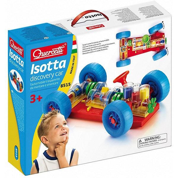 Конструктор Quercetti, АвтомобильПластмассовые конструкторы<br>Характеристики товара:<br><br>• возраст: от 6 лет;<br>• в комплекте: основа для кузова с двумя валами, двигатель, коробка передач, ходовая часть, колеса, руль, инструкция;<br>• материал: пластик;<br>• размер упаковки: 42х29х7см;<br>• вес упаковки: 1200 гр.;<br>• страна бренда: Италия.<br><br>Конструктор Quercetti, Автомобиль позволит малышу почувствовать себя настоящим автомехаником! Конструктор воспроизводит действие основных узлов автомобиля. Другими словами: ребенок сможет наблюдать за тем, как работают «внутренности» автомобиля, пусть и игрушечного, когда тот находится в движении. Но самое замечательное в том, что ребенок сможет без труда самостоятельно построить эту машинку!<br><br>Конструктор Quercetti, Автомобиль можно купить в нашем интернет-магазине.<br>Ширина мм: 400; Глубина мм: 340; Высота мм: 90; Вес г: 1171; Возраст от месяцев: 36; Возраст до месяцев: 60; Пол: Унисекс; Возраст: Детский; SKU: 7683722;