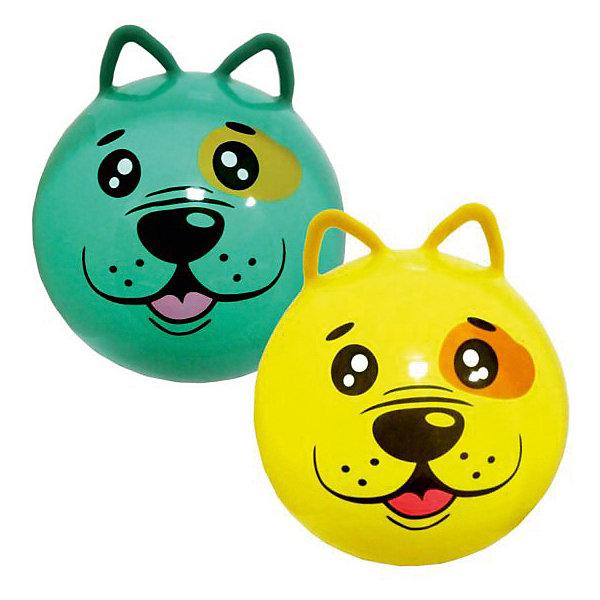 Мяч - прыгун с ушками Moby Kids  Щенок, 45 см, в ассортиментеМячи детские<br>Характеристики:<br><br>• тип игрушки: мяч;<br>• возраст: от 3 лет;<br>• материал: резина;<br>• цвет: в ассортименте;<br>• диаметр: 45 см;<br>• бренд: Moby Kids.<br><br>Мяч - прыгун с ушками Moby Kids  «Щенок», 45 см с забавными ушками от бренда Moby Kids обязательно понравится малышу. С мячиком можно будет выполнять большое количество упражнений, которые положительно скажутся на здоровье и физическом состоянии малыша. Главное преимущество занятий на гимнастическом мяче заключается в их безопасности, что делает их очень незаменимыми для маленького ребенка. Кроме того, такой мячик можно будет использовать во время разнообразных детских конкурсов и веселых стартов.<br><br>Мяч - прыгун с ушками Moby Kids  «Щенок», 45 см можно купить в нашем интернет-магазине.<br>Ширина мм: 140; Глубина мм: 70; Высота мм: 160; Вес г: 43; Возраст от месяцев: 36; Возраст до месяцев: 2147483647; Пол: Унисекс; Возраст: Детский; SKU: 7684046;