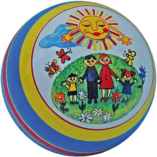 Мяч  с рисунком, 20 смМячи детские<br>Характеристики:<br><br>• тип игрушки: мяч;<br>• возраст: от 3 лет;<br>• материал: ПВХ;<br>• цвет: мультиколор;<br>• диаметр: 20 см;<br>• страна бренда: Россия;<br>• бренд: Чебоксарский завод;<br><br>Мяч  с рисунком , 20 см очень высоко отскакивает от пола, что очень важно во многих подвижных играх. Продается мяч уже накаченным, а значит, вам не придется докупать для него насос и специальную насадку к нему. Легкий и прочный мячик подходит для игр как в помещении, так и на улице.<br><br>Мяч  с рисунком , 20 см можно купить в нашем интернет-магазине.<br>Ширина мм: 200; Глубина мм: 200; Высота мм: 200; Вес г: 47; Возраст от месяцев: 36; Возраст до месяцев: 2147483647; Пол: Унисекс; Возраст: Детский; SKU: 7684048;