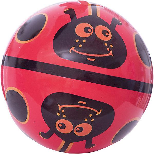 Мяч Dema-Stil Божья коровка на поле, 23 смМячи детские<br>Характеристики:<br><br>• тип игрушки: мяч;<br>• возраст: от 3 лет;<br>• материал: резина;<br>• цвет: красный, черный;<br>• диаметр: 23 см;<br>• бренд: Dema-Stil;<br><br>Мяч Dema-Stil «Божья коровка на поле», 23 см выполнен в красно-черной цветовой гамме и украшен изображением веселого личика. Выполненный из прочного материала, безопасного для здоровья детей, мячик имеет упругую поверхность. Забавный дизайн и яркие краски понравятся детям, не зависимо от их половой принадлежности. <br><br>Мяч Dema-Stil «Божья коровка на поле», 23 см можно купить в нашем интернет-магазине.<br>Ширина мм: 230; Глубина мм: 230; Высота мм: 230; Вес г: 9; Возраст от месяцев: 36; Возраст до месяцев: 2147483647; Пол: Унисекс; Возраст: Детский; SKU: 7684052;