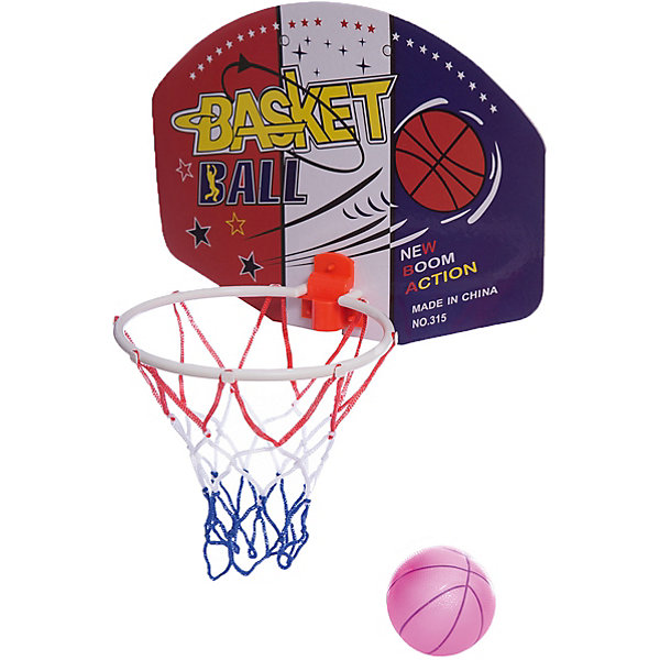 Набор Shantou Gepai для игры в баскетбол с щитом и мячомИгровые наборы<br>Характеристики:<br><br>• тип игрушки: игровой набор;<br>• возраст: от 3 лет;<br>• комплектация: корзина, резиновый мяч;<br>• материал: резина, пластик;<br>• размер: 7х44х25 см;<br>• бренд: Shantou Gepai.<br><br>Набор Shantou Gepai для игры в баскетбол с щитом и мячом  может понравиться детям, которые любят активные и энергичные игры. С этим набором ребенок в любой момент сможет поиграть в любимую игру или потренироваться в меткости, забрасывая мяч в кольцо. Все необходимое для игры находится в наборе: здесь есть щит с кольцом, который можно прикрепить даже к стене, и надувной мяч. С таким набором даже самый энергичный ребенок не сможет заскучать.<br><br>Набор Shantou Gepai для игры в баскетбол с щитом и мячом можно купить в нашем интернет-магазине.<br>Ширина мм: 250; Глубина мм: 70; Высота мм: 440; Вес г: 21; Возраст от месяцев: 36; Возраст до месяцев: 2147483647; Пол: Унисекс; Возраст: Детский; SKU: 7684076;