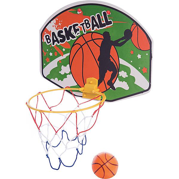 Набор Shantou Gepai для игры в баскетболИгровые наборы<br>Характеристики:<br><br>• тип игрушки: игровой набор;<br>• возраст: от 3 лет;<br>• комплектация: корзина, резиновый мяч;<br>• материал: резина, пластик;<br>• размер: 37х4х33 см;<br>• бренд: Shantou Gepai.<br><br>Набор Shantou Gepai для игры в баскетбол представляет собой набор для игры в баскетбол с миниатюрными корзиной, щитом и мячом. Игра в мини-баскетбол позволит развить координацию движений, меткость, ловкость и сноровку, а данный набор прекрасно подходит для начинающих игроков. Целью игры остается набор очков путем забрасывания мяча в корзину.<br><br>Набор Shantou Gepai для игры в баскетбол можно купить в нашем интернет-магазине.<br>Ширина мм: 370; Глубина мм: 40; Высота мм: 330; Вес г: 35; Возраст от месяцев: 36; Возраст до месяцев: 2147483647; Пол: Унисекс; Возраст: Детский; SKU: 7684078;