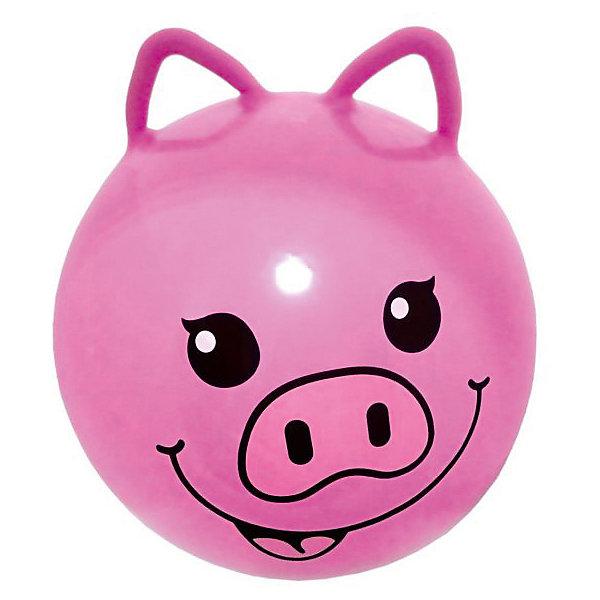 Мяч - прыгун с ушками Moby Kids  Хрюша, 45 смМячи детские<br>Характеристики:<br><br>• тип игрушки: мяч;<br>• возраст: от 3 лет;<br>• материал: резина;<br>• цвет: розовый;<br>• диаметр: 45 см;<br>• бренд: Moby Kids.<br><br>Мяч - прыгун с ушками Moby Kids  «Хрюша», 45 см с забавными ушками от бренда Moby Kids обязательно понравится малышу! С мячиком можно будет выполнять большое количество упражнений, которые положительно скажутся на здоровье и физическом состоянии малыша. Главное преимущество занятий на гимнастическом мяче заключается в их безопасности, что делает их очень незаменимыми для маленького ребенка. Кроме того, такой мячик можно будет использовать во время разнообразных детских конкурсов и веселых стартов.<br><br>Мяч - прыгун с ушками Moby Kids  «Хрюша», 45 см можно купить в нашем интернет-магазине.<br>Ширина мм: 140; Глубина мм: 70; Высота мм: 160; Вес г: 43; Возраст от месяцев: 36; Возраст до месяцев: 2147483647; Пол: Унисекс; Возраст: Детский; SKU: 7684094;