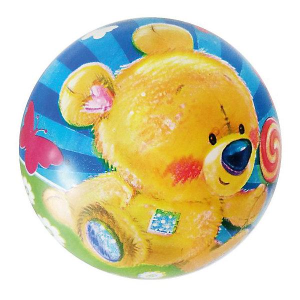 Детский мяч Shantou Gepai Медвежонок, 22 смМячи детские<br>Характеристики:<br><br>• тип игрушки: мяч;<br>• возраст: от 3 лет;<br>• материал: резина;<br>• цвет: мультколор;<br>• диаметр: 22 см;<br>• бренд: Shantou Gepai;<br><br>Детский мяч Shantou Gepai «Медвежонок», 22 см сможет стать отличным атрибутом для активного отдыха. Яркий принт с изображением забавного медвежонка наверняка понравится детям. Эта игрушка имеет небольшой размер, поэтому ее будет удобно держать в руках даже маленькому ребенку. С таким мячиком можно придумать множество интересных игр, которые развивают ловкость и улучшают физическую форму.<br><br>Детский мяч Shantou Gepai «Медвежонок», 22 см можно купить в нашем интернет-магазине.<br>Ширина мм: 200; Глубина мм: 20; Высота мм: 110; Вес г: 8; Возраст от месяцев: 36; Возраст до месяцев: 2147483647; Пол: Унисекс; Возраст: Детский; SKU: 7684098;