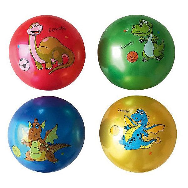 Детский мяч Shantou Gepai Динозаврик, 22 см, латексныйМячи детские<br>Характеристики:<br><br>• тип игрушки: мяч;<br>• возраст: от 3 лет;<br>• материал: латекс;<br>• цвет: в ассортименте;<br>• диаметр: 22 см;<br>• бренд: Shantou Gepai;<br><br>Детский мяч Shantou Gepai «Динозаврик», 22 см, латексный выполнен в яркой цветовой гамме и украшен изображением веселого динозаврика. Выполненный из прочного материала, безопасного для здоровья детей, мячик имеет упругую поверхность. Забавный дизайн и яркие краски понравятся детям, не зависимо от их половой принадлежности. <br><br>Детский мяч Shantou Gepai «Динозаврик», 22 см, латексный можно купить в нашем интернет-магазине.<br>Ширина мм: 250; Глубина мм: 10; Высота мм: 110; Вес г: 9; Возраст от месяцев: 36; Возраст до месяцев: 2147483647; Пол: Унисекс; Возраст: Детский; SKU: 7684102;