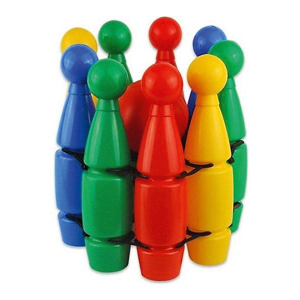 Кегли большие Nina ЕвроИгровые наборы<br>Характеристики:<br><br>• тип игрушки: игровой набор;<br>• возраст: от 3 лет;<br>• комплектация: кегли 6 шт.;<br>• материал: пластик;<br>• размер: 30х30х30 см;<br>• бренд: Nina.<br><br>Кегли большие Nina «Евро» - это игра-соревнование. Цель играющих - сбить шаром кегли, расставленные в определенном порядке. За каждую сбитую кеглю начисляются очки. Победившим считается тот, кто наберет наибольшее число очков. Игра развивает ловкость, координацию движений, глазомер.<br><br>Кегли большие Nina «Евро» можно купить в нашем интернет-магазине.<br>Ширина мм: 295; Глубина мм: 295; Высота мм: 295; Вес г: 85; Возраст от месяцев: 36; Возраст до месяцев: 2147483647; Пол: Унисекс; Возраст: Детский; SKU: 7684114;