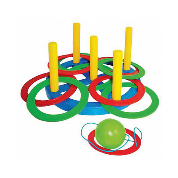 Набор Плэйдорадо Набрось кольцо+поймай шарик 2 в 1Кольцебросы и боулинг<br>Характеристики:<br><br>• тип игрушки: игровой набор;<br>• возраст: от 3 лет;<br>• комплектация: 10 колец, подставка с четырьмя вертикальными стержнями, шарик;<br>• материал: резина, пластик;<br>• размер: 21х8х21 см;<br>• страна бренда: Россия;<br>• бренд: Плэйдорадо.<br><br>Набор Плэйдорадо «Набрось кольцо+поймай шарик 2 в 1» - целых две спортивных игры в одном наборе. Игра «Набрось кольцо»  - нужно набросить кольца с установленного расстояния на один из четырех вертикальных стержней, так чтобы кольца оказались надетыми на стержень. Прекрасно развивает координацию движений. Стимулирует двигательную активность. <br><br>Игра «Поймай шарик» - нужно поймать подброшенный шарик так, чтобы он прошел сквозь кольцо. <br><br>Набор Плэйдорадо «Набрось кольцо+поймай шарик 2 в 1» можно купить в нашем интернет-магазине.<br>Ширина мм: 210; Глубина мм: 80; Высота мм: 210; Вес г: 14; Возраст от месяцев: 36; Возраст до месяцев: 2147483647; Пол: Унисекс; Возраст: Детский; SKU: 7684116;