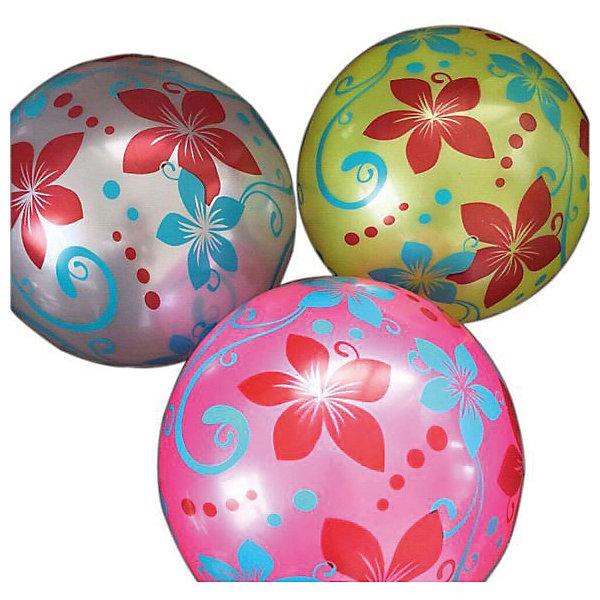 Мяч Shantou Gepai  Цветочки, 22 см, в ассортиментеМячи детские<br>Характеристики:<br><br>• тип игрушки: мяч;<br>• возраст: от 3 лет;<br>• материал: резина;<br>• цвет: мультиколор;<br>• диаметр: 22 см;<br>• бренд: Shantou Gepai.<br><br>Мяч Shantou Gepai «Цветочки», 22 см - это одна из наиболее распространенных и любимых игрушек среди маленьких детей. Основное преимущество мячей - их форма и отсутствие острых углов и краев. Благодаря яркой расцветке, мячик сложно не заметить и потерять, и поэтому он будет всегда под рукой. <br><br>Мячом удобно пользоваться благодаря его диаметру и материалу из высококачественной и упругой резины. При помощи такого мячика дети могут играть во множество увлекательных игр: выбивалы, игру шанс или детский волейбол.<br><br>Мяч Shantou Gepai «Цветочки», 22 см можно купить в нашем интернет-магазине.<br>Ширина мм: 240; Глубина мм: 20; Высота мм: 90; Вес г: 7; Возраст от месяцев: 36; Возраст до месяцев: 2147483647; Пол: Унисекс; Возраст: Детский; SKU: 7684130;